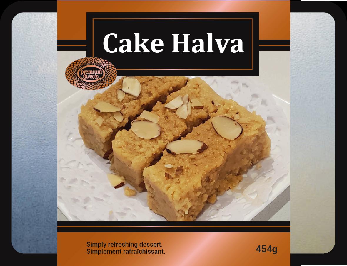 CAKE HALVA